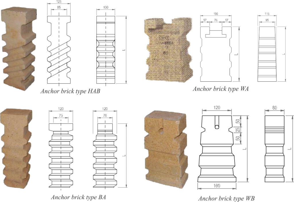 Refractory Anchor brick