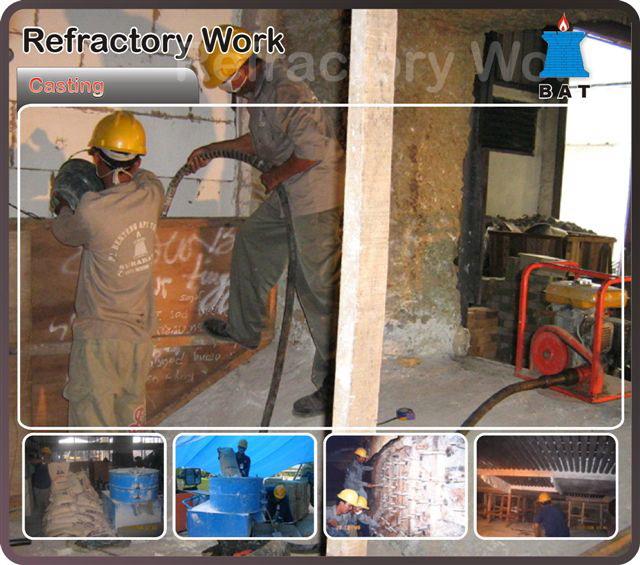 Jasa Pemasangan   Repair Refractory