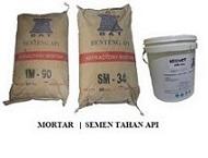 fire mortar | semen tahan api